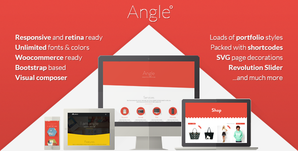 Live Preview of Angle Flat Responsive Bootstrap MultiPurpose Theme