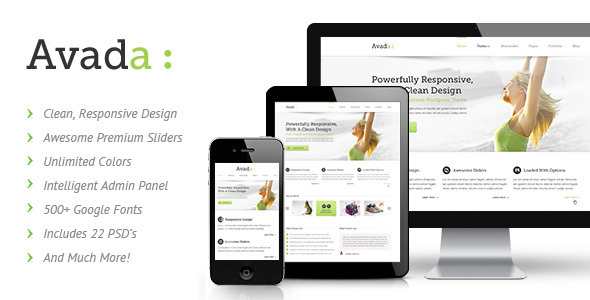 Live Preview of Avada | Responsive Multi-Purpose Theme