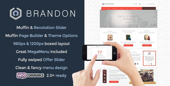 Live Preview of Brandon - Responsive Multi-Purpose WordPress Theme