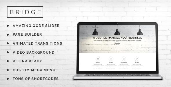 Live Preview of Bridge - Creative Multi-Purpose WordPress Theme
