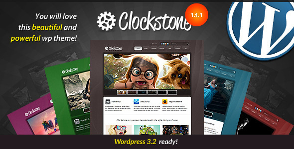 Live Preview of Clockstone - Ultimate Wordpress Theme