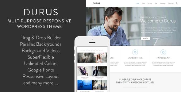 Live Preview of Durus Multipurpose WordPress Theme