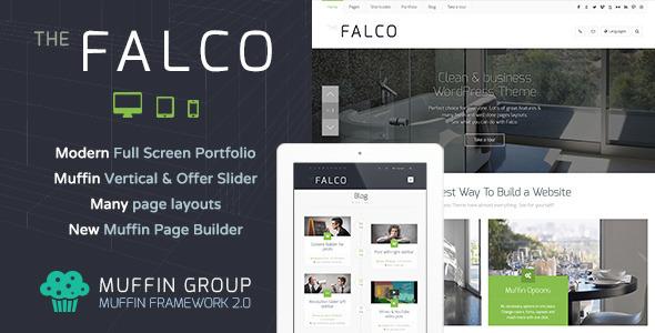 Live Preview of Falco - Responsive Multi-Purpose WordPress Theme