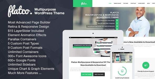 Live Preview of Flatco - Multipurpose & Responsive WordPress Theme