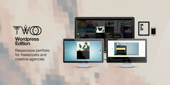 Live Preview of Folio Two Wordpress Edition