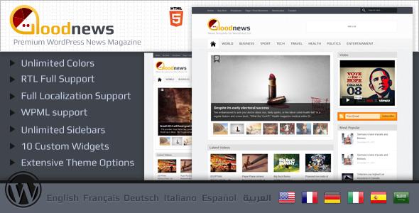 Live Preview of Goodnews – Premium WordPress News/Magazine