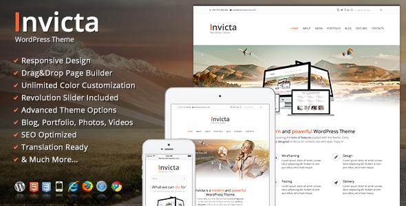 Live Preview of Invicta WordPress Theme