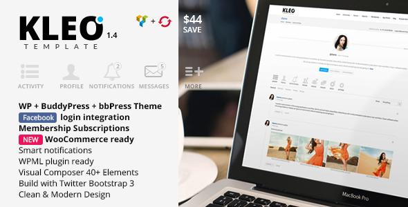 Live Preview of KLEO – Next level Premium WordPress Theme