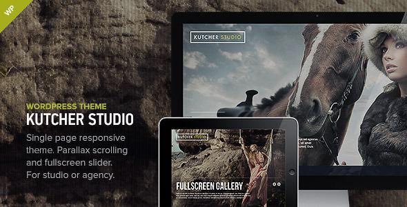 Live Preview of Kutcher Studio - Responsive WordPress Theme