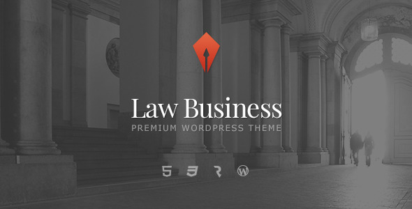 Live Preview of LawBusiness - Attorney & Lawyer WordPress Theme