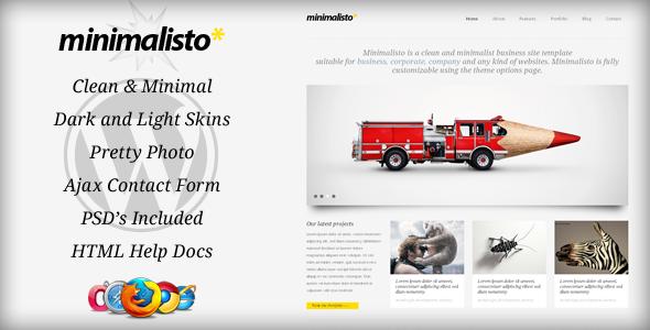 Live Preview of Minimalisto - Premium WordPress Theme