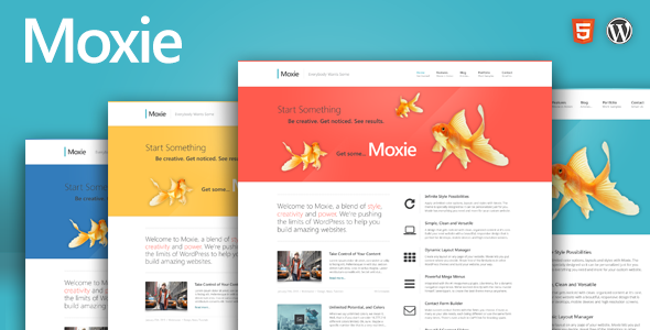 Live Preview of Moxie - Responsive Theme for WordPress