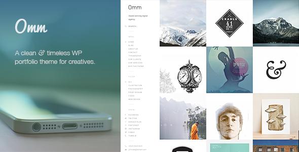 Live Preview of Omm: Retina Responsive WordPress Portfolio Theme