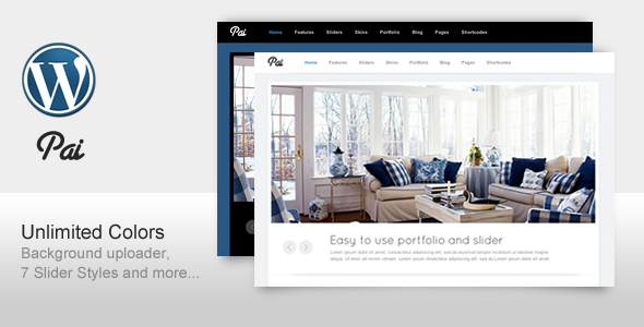 Live Preview of Pai - Simple and Clean Business Corporate Template