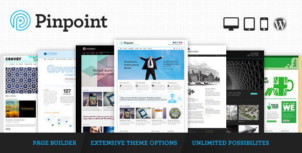 Live Preview of Pinpoint - Responsive Multi-Purpose WP Theme
