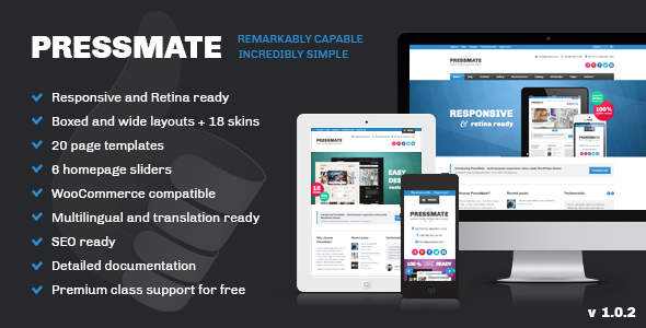 Live Preview of PressMate: remarkably capable, incredibly simple