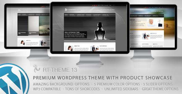Live Preview of RT-Theme 13 Multi-Purpose Premium Wordpress Theme