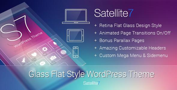 Live Preview of Satellite7 - Retina Multi-Purpose WordPress Theme