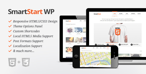 Live Preview of SmartStart WP - Responsive HTML5 Theme