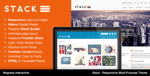 Live Preview of Stack - Responsive Multi-Purpose Theme
