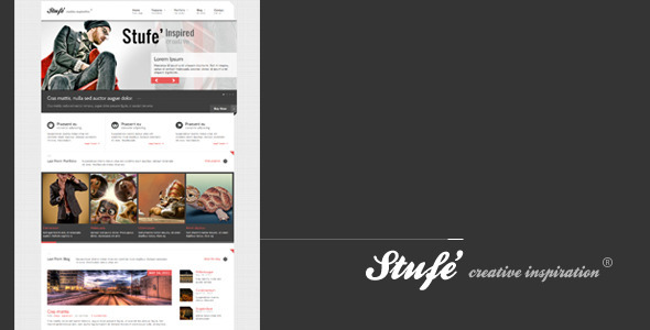 Live Preview of Stufe' - creative inspiration