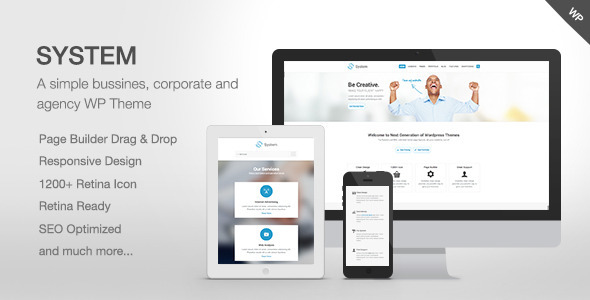 Live Preview of System - Responsive Multi-Purpose Theme