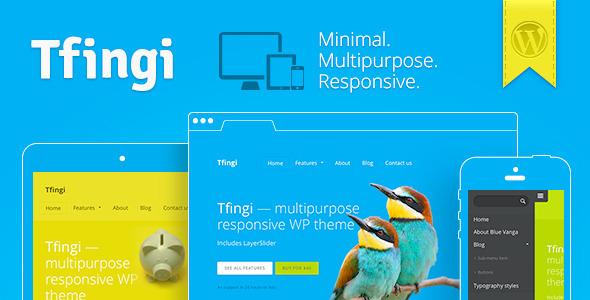 Live Preview of Tfingi • Responsive Multipurpose WordPress Theme