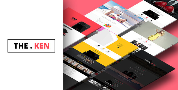 Live Preview of The Ken - Multi-Purpose Creative WordPress Theme