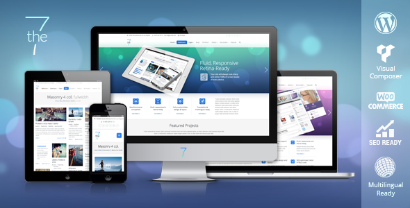 Live Preview of The7 — Responsive Multi-Purpose WordPress Theme