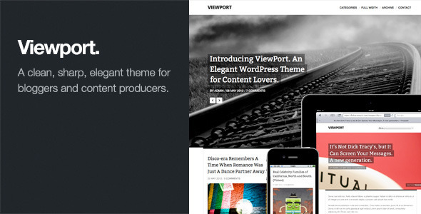 Live Preview of Viewport: Responsive Magazine WordPress Theme