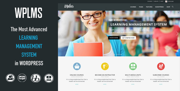 Live Preview of WPLMS Learning Management System