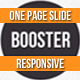 Thumbnail of BOOSTERIUS - Responsive one page slide WordPress theme