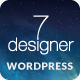 Thumbnail of De7igner - Flat iOS7 Inspired OnePage Parallax WP