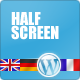 Thumbnail of Halfscreen Premium Corporate & Portfolio WP Theme