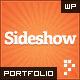 http://www.webwobble.com/themes/thumbnail-of-Sideshow-Funktastic-Portfolio-WordPress-Theme.jpg