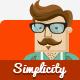 Thumbnail of Simplicity - Creative Flat Retina Theme