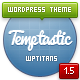 Thumbnail of Temptastic - Premium WordPress Magazine Theme