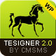 Thumbnail of Tesigner - Creative Portfolio WP Theme