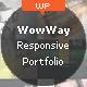 Thumbnail of WowWay - Interactive & Responsive Portfolio Theme